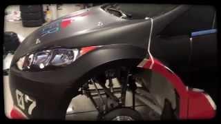 presenting the 2015 river racing redbull global rallycross car
