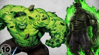 Top 10 Most Powerful Hulk Powers