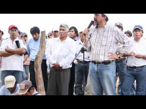 Homenaje a Mártires López - Saludo de Rodolfo Schwartz del PCR Chaco