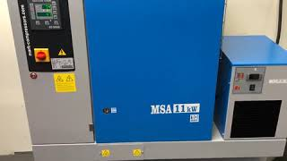 New MARK MSA11 compressor installed by our expert engineers