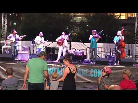 Restless Leg String Band @Fountain Square Cincinnati OH 9/16/17