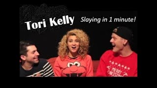 Tori Kelly - Some of her Best Live Vocals in 1 minute!