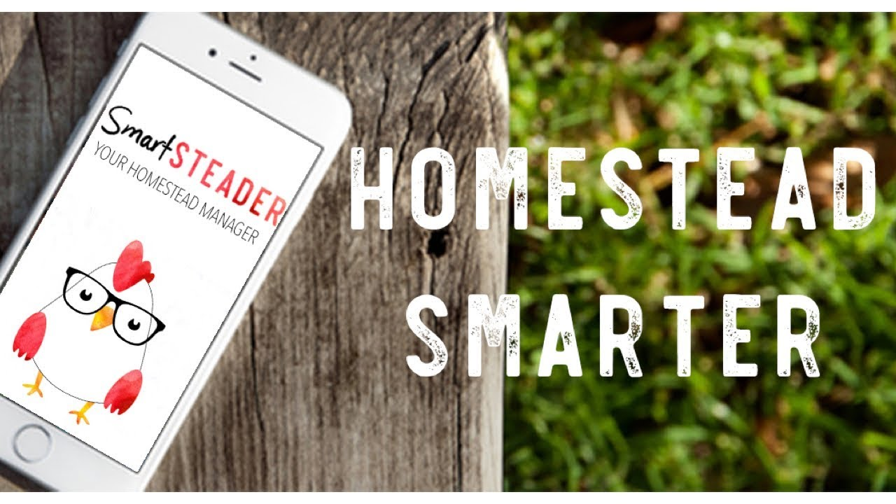 Homesteading apps