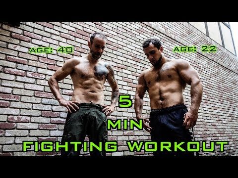 Explosive 5 Minute HIIT Workout for Fighting