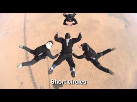 Skydiving Training - Freefall Skills - Category B (AFF)
