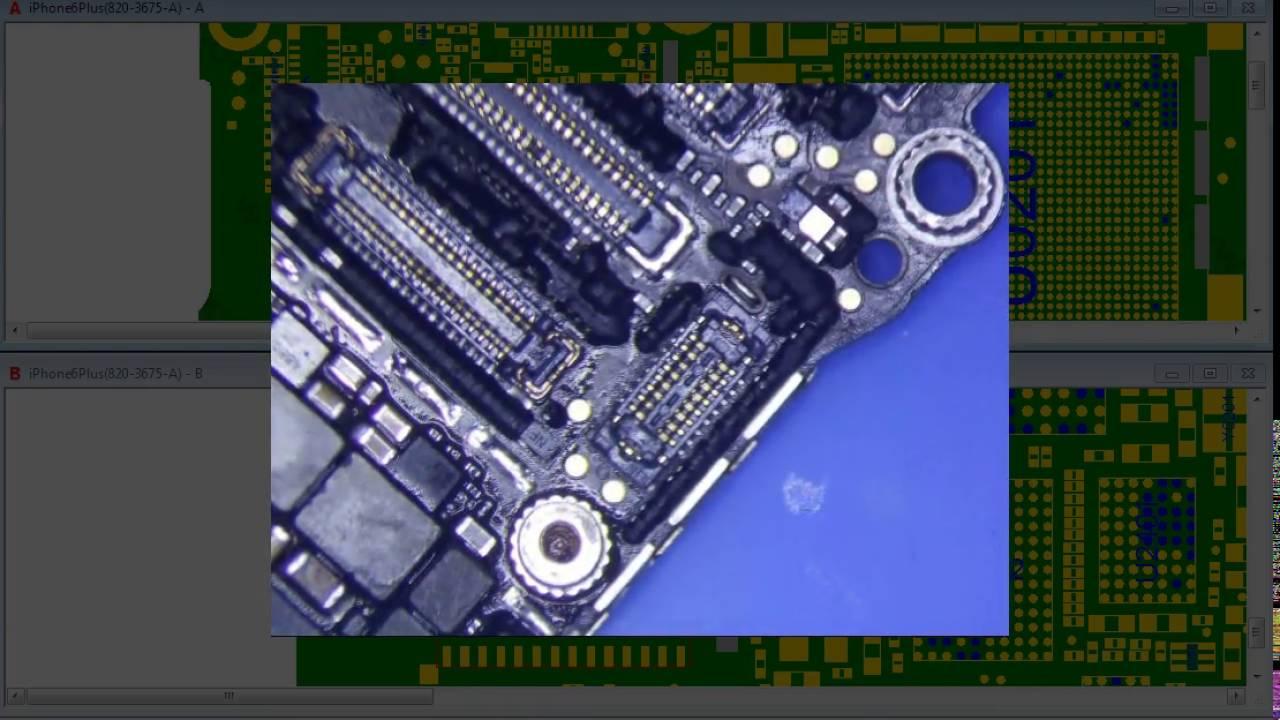Long Screw Damage Iphone  Repair