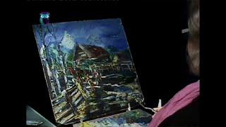 Уроки рисования (№ 100) масляными красками . Рисуем пейзаж из цикла времена года: весна