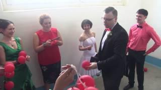 Свадьба Анатолия и Анжелики Карасовых. Выкуп невесты.