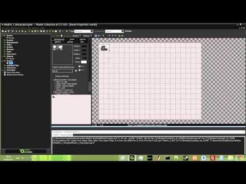 Game Maker Studio : Hebrew Tutorial Part 1