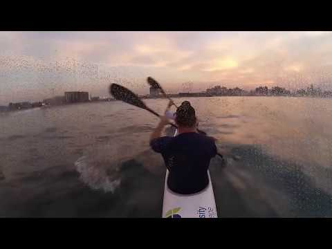 Durban Surfski Wave Riding