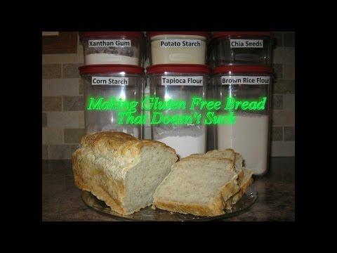 Making Gluten Free Bread That