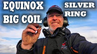 The Big Minelab Equinox 15 inch coil, EQX 15 double d smart search ...