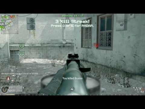 Call of Duty 4: ZeusJuice's Domination on Crash