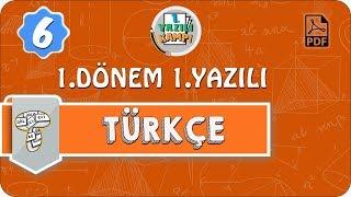 6.Sınıf Türkçe | 1.Dönem 1.Yazılıya Hazırlık