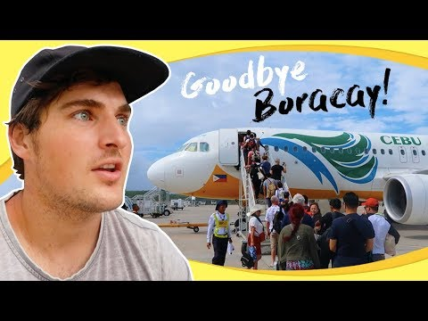 Departing Paradise: The Journey from Boracay Island to Manila, Philippines