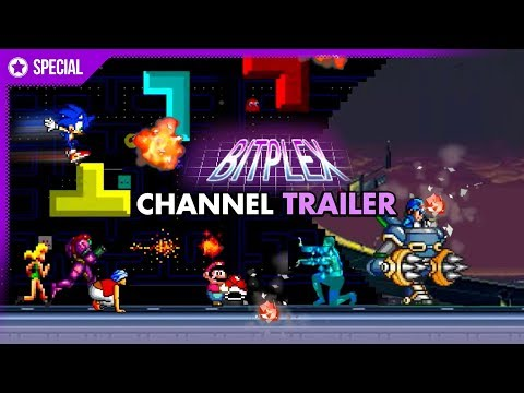 Bitplex Channel Trailer 2017 | Funny, Creative VIDEO GAME videos and MUSIC!