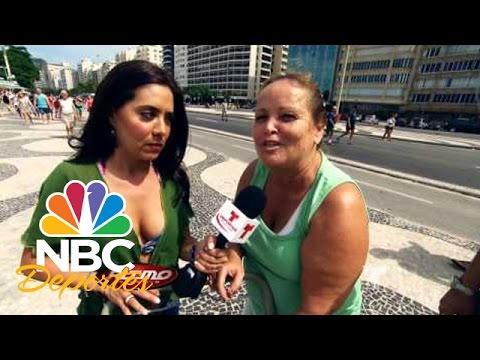 Playa de Río de Janeiro | FIFA Desde Brasil | NBC Deportes