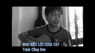 Như một lời chia tay - Trịnh Công Sơn