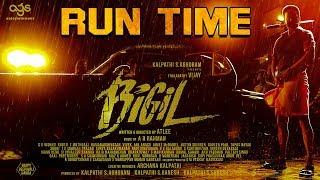BIGIL Running Time | Thalapathy Vijay | Atlee | AR Rahman | #Nettv4u