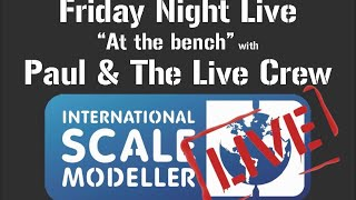 """ISM Friday Night Live """"At the Bench"""" with Paul and the live Crew With Free prize draws"""