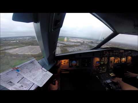 Landing Gatwick