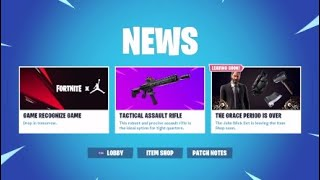 FORTNITE X JORDAN COLLAB Review| NBA Skins|