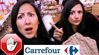 CI ARRESTANO AL CARREFOUR!!!! - Vlog CARLITADOLCE al Supermercato #13