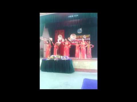 Múa bài dáng đứng bến tre tốp múa xóm hồng phong