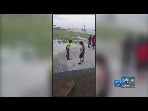 Video of Buckroe Beach fight leads to police investigation