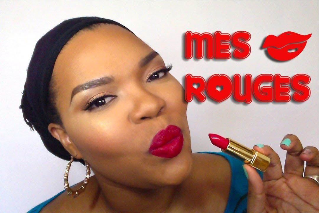 Mes Rouges à Lèvres Rouges Préférés My Favorite Red Lipsticks