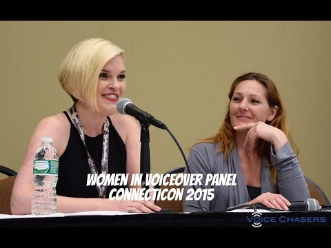 Women in Voiceover Panel - ConnectiCon 2015