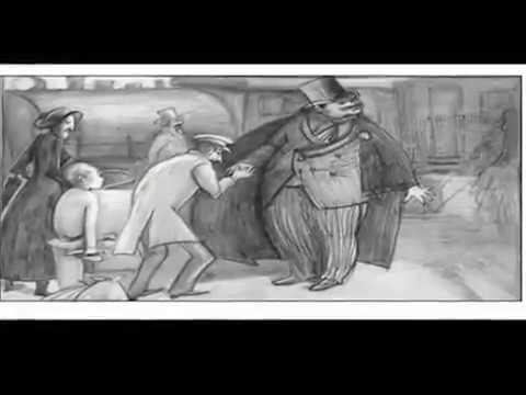 Изображение предпросмотра прочтения – КсенияМатулина представляет буктрейлер кпроизведению «Толстый и тонкий» А.П.Чехова