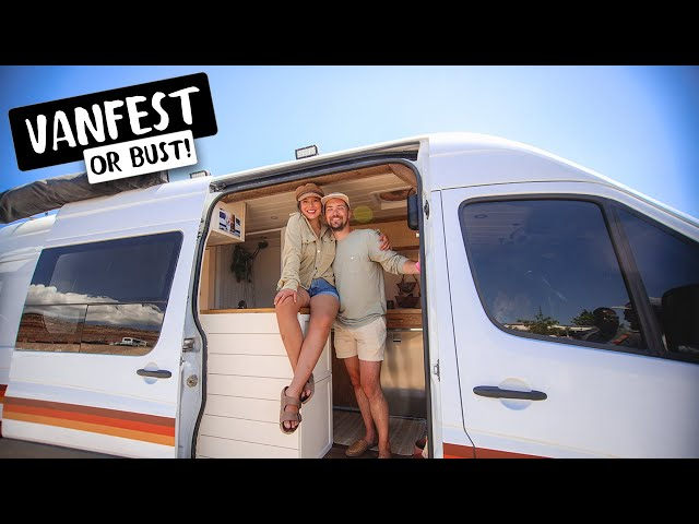 SO MANY FIRSTS! Caravan to our First Van Event with VAN & SKOOLIE TOURS