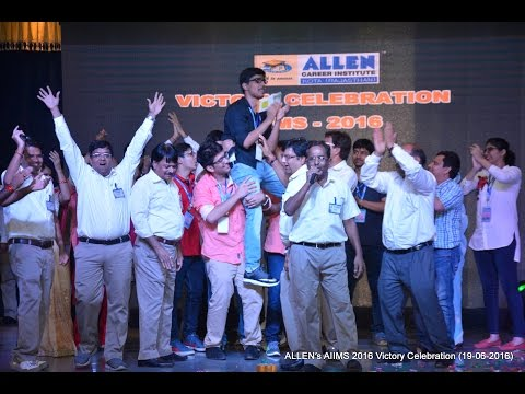 ALLEN's AIIMS 2016 Victory Celebration - Medals & Award Distribution for Top 10 (Part-1)