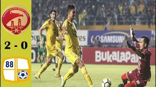 Sriwijaya FC vs Barito Putera 2-0 Full Highlight   Liga 1 Gojek 2018