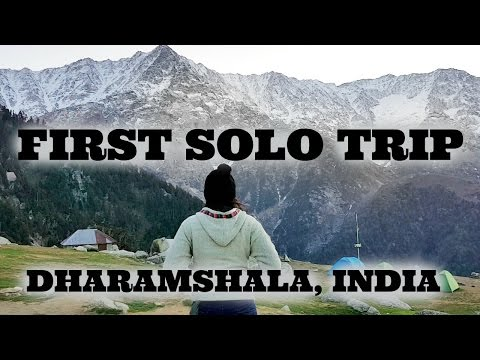 First Travel Vlog| Dharamshala|