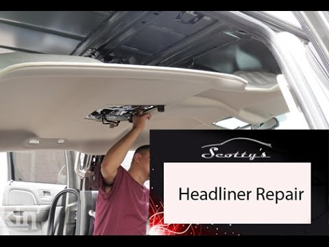 How to remove a Honda Ridgeline headliner (Part 1)  YouTube