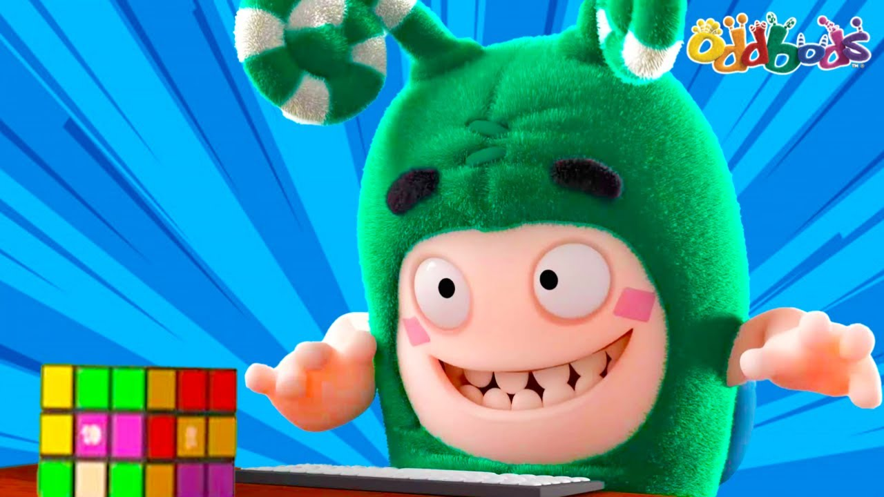 Oddbods   Aprende a Resolver Un Rompecabezas   Dibujos Animados Divertidos para Niños