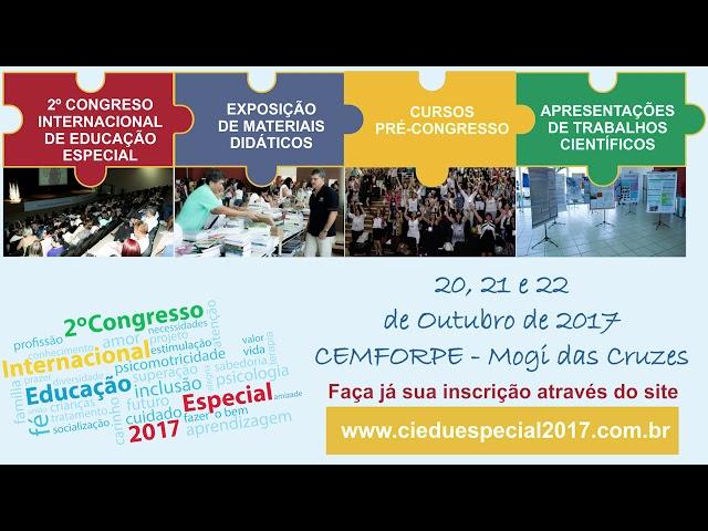 2º CONGRESSO INTERNACIONAL DE EDUCAÇÃO ESPECIAL 4