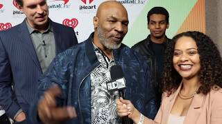 Mike Tyson Speaks About Hot Boxing His Weed Podcast