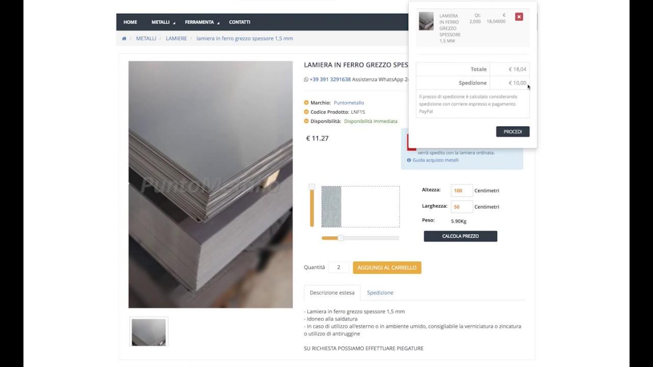 Costo Profilati Ferro Al Kg lamiera in ferro grezzo spessore 2 mm - puntometallo.it