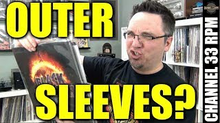 ARE OUTER SLEEVES WORTH IT? Best and worst | Record collecting