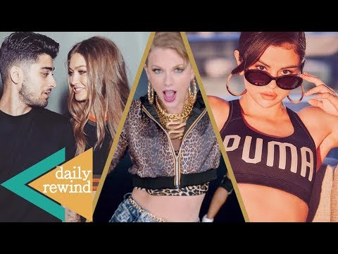 Gigi Hadid's Zayn Malik Impersonation, Selena Gomez's Sexy Puma Ad, Taylor Swift SUED -DR