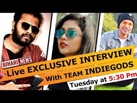 Live exclusive interview