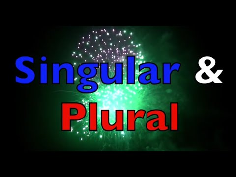 SINGULAR & PLURAL for KIDS Learn English