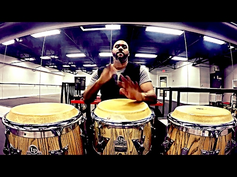 Afro-Cuban Percussion: 6/8 Rhythm Mashup on Congas
