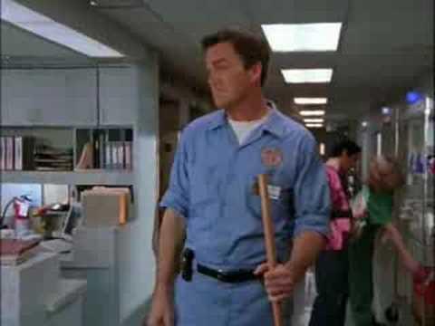Scrubs Janitor's New Uniform