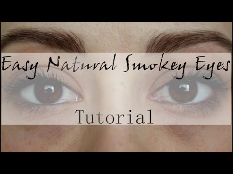 Easy Natural Smokey Eye | Tutorial