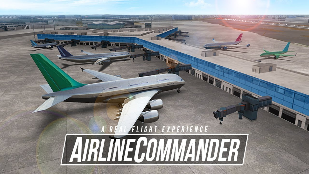 Airline Commander Android Ios Gameplay Beta Test Youtube