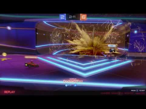 Rocket League gameplay pt8 - 1st Rocket Labs Match